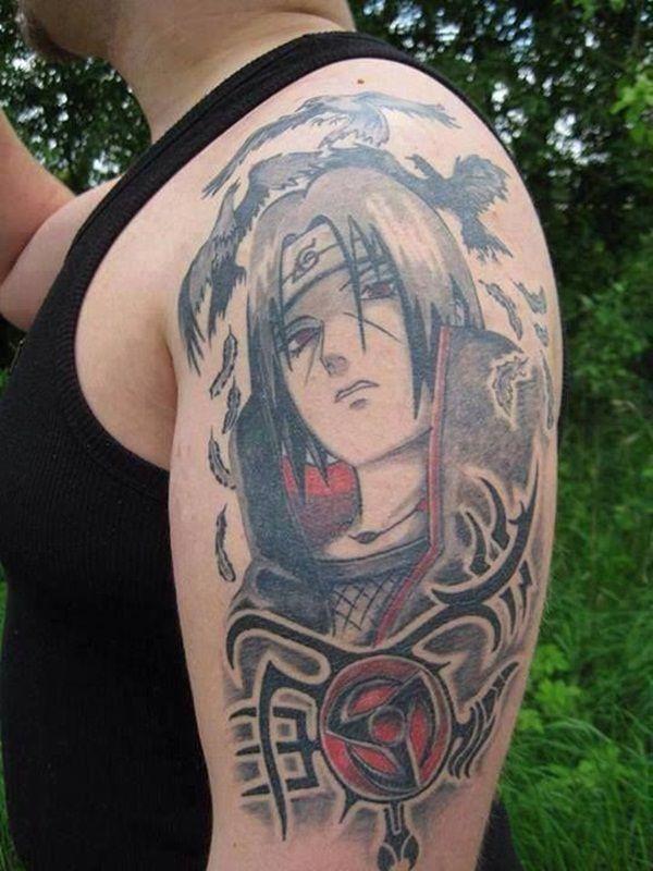 Itachi Sleeve Tattoo The Ramenswag