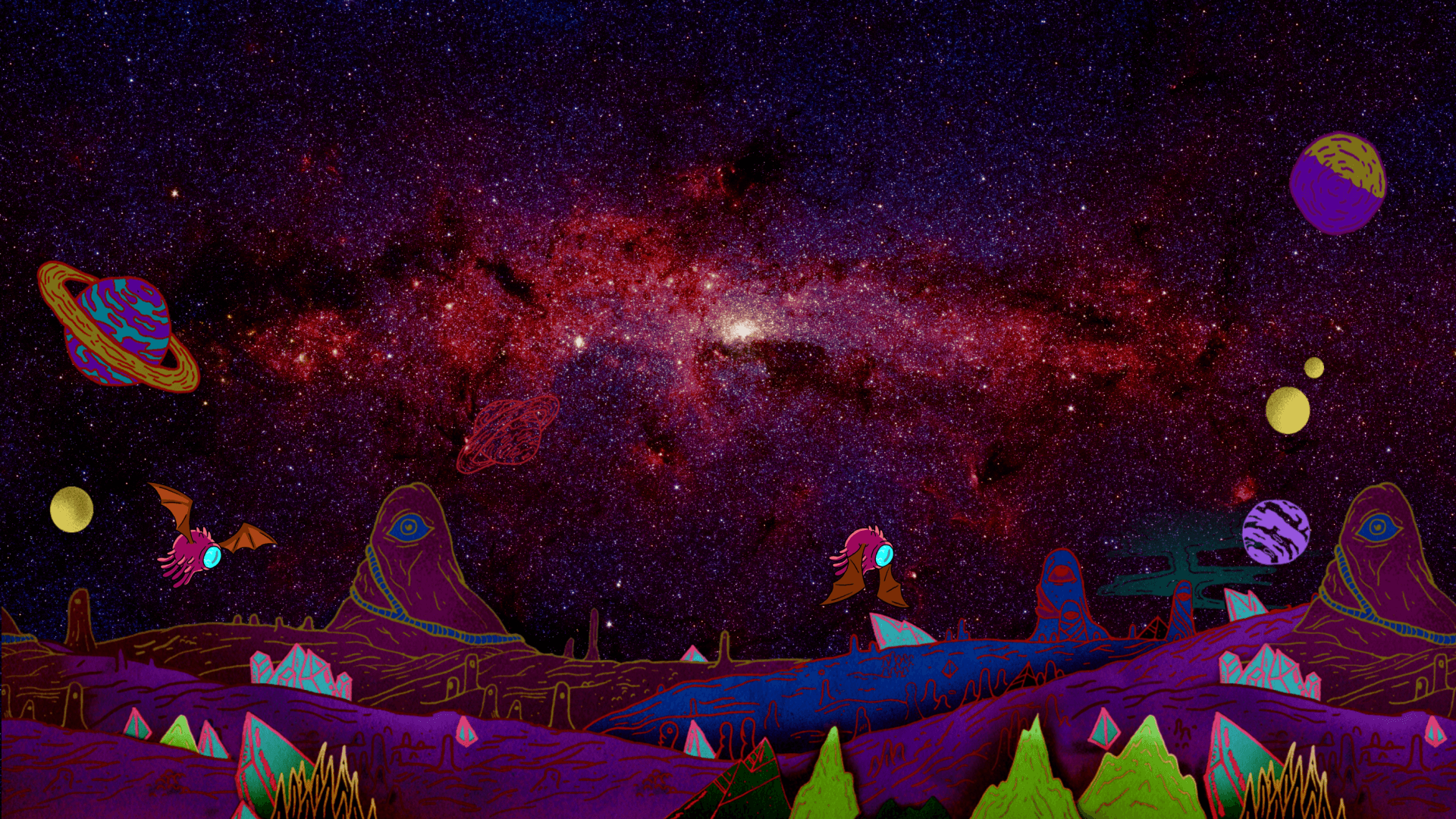 Rick And Morty Wallpapers - The RamenSwag