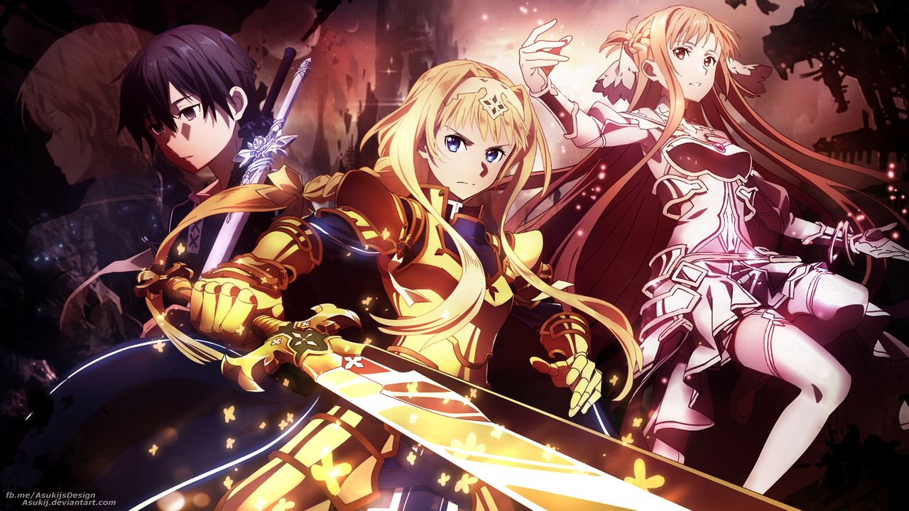 Sword Art Online Alicization War Of Underworld Wallpaper 4k The